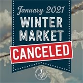 January Winter Market Canceled