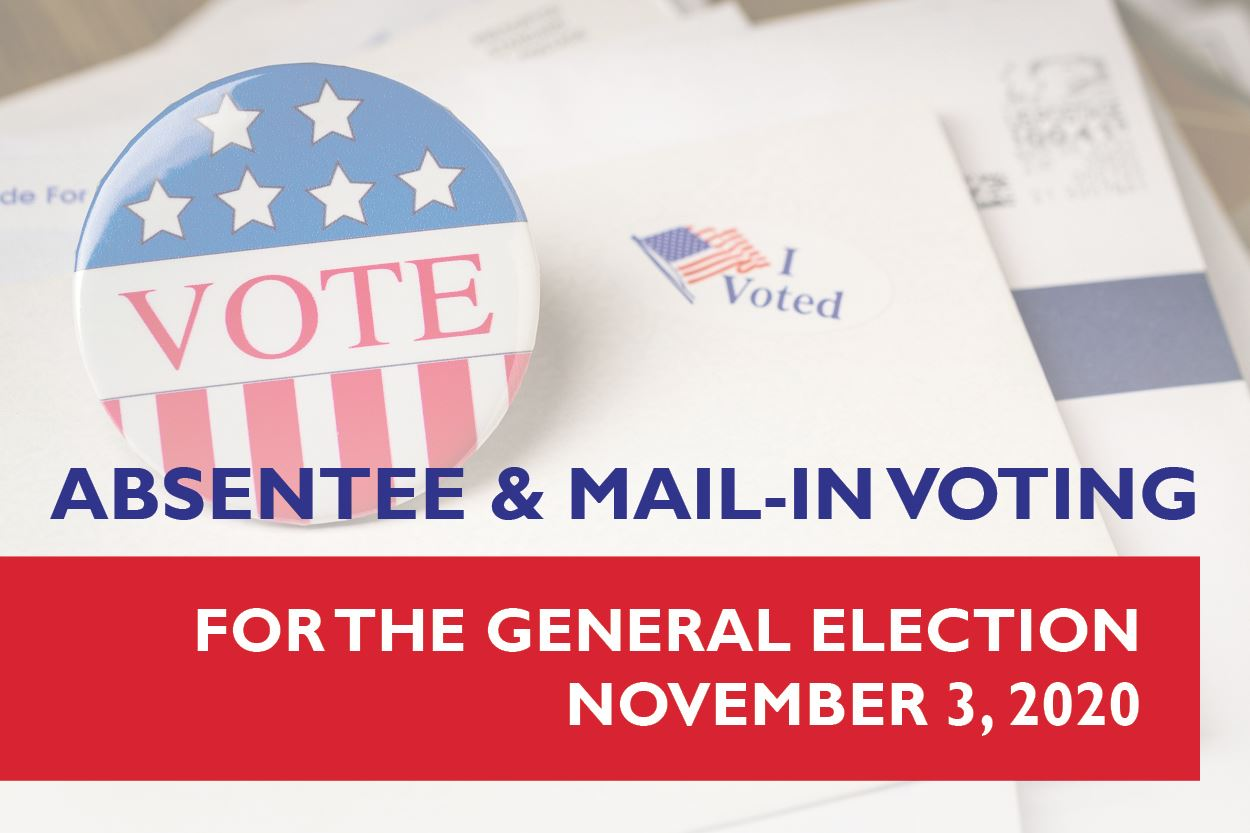 Absentee and Mail In Voting - Website