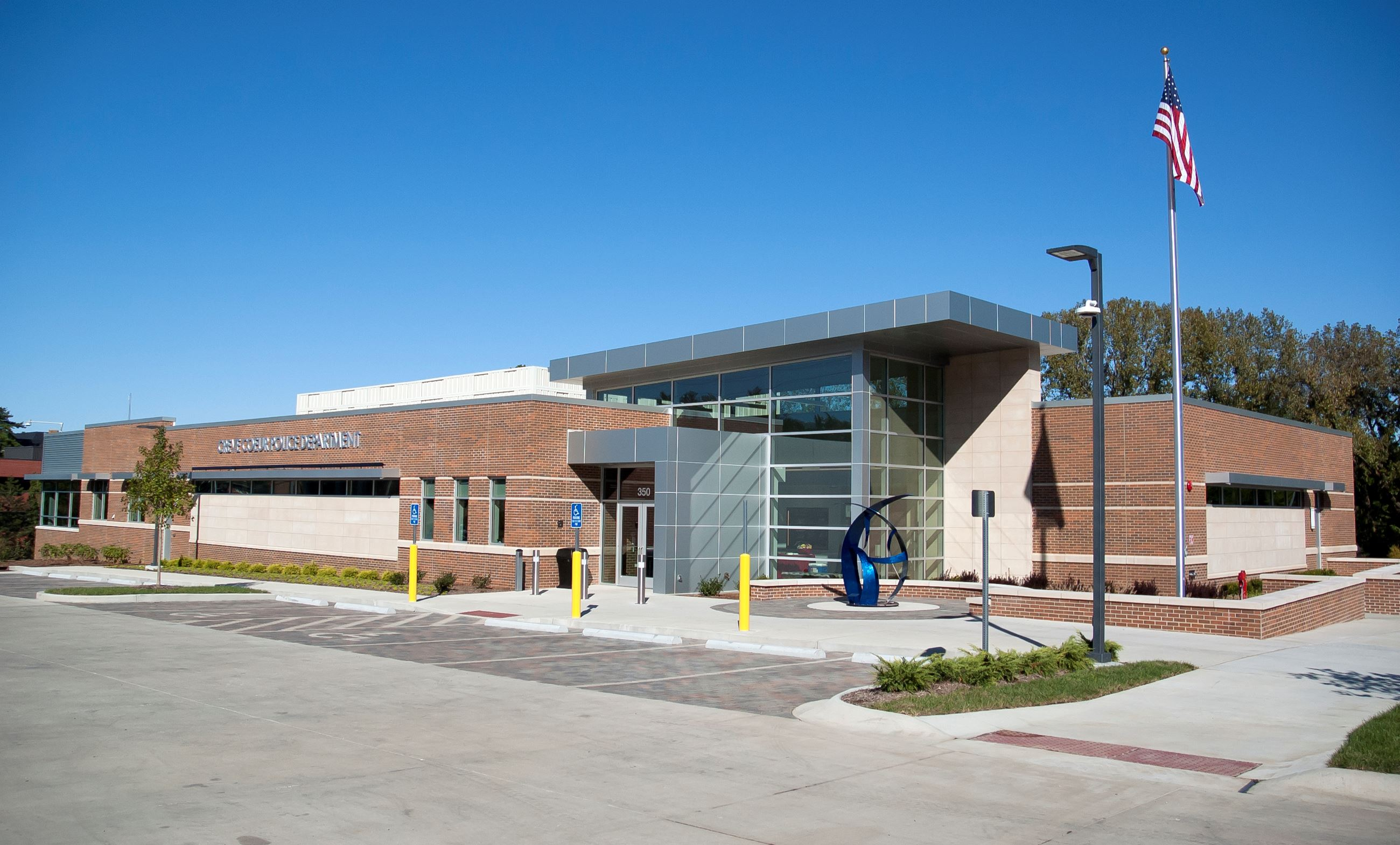 Creve Coeur Police Station - Front