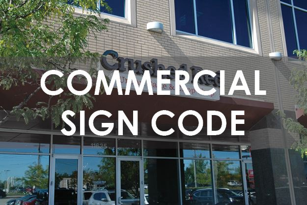 Commercial Sign Code