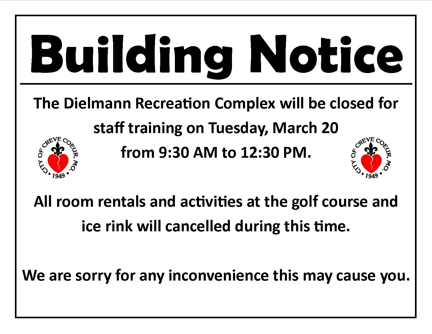 PD Building Closed