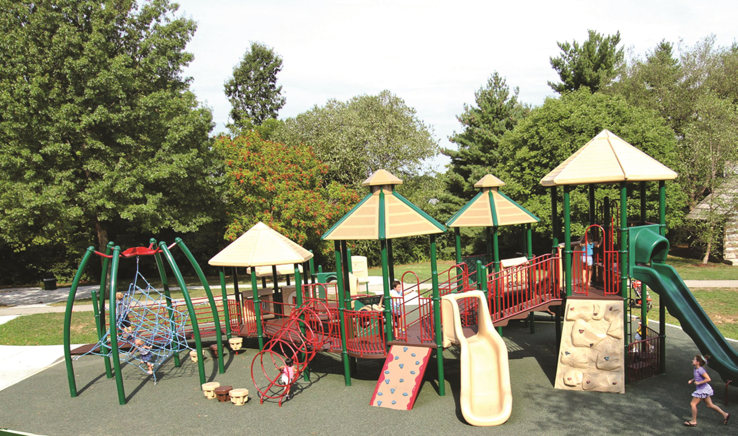 Playground in Conway Park