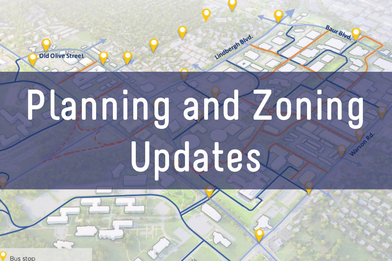 Planning and Zoning Updates