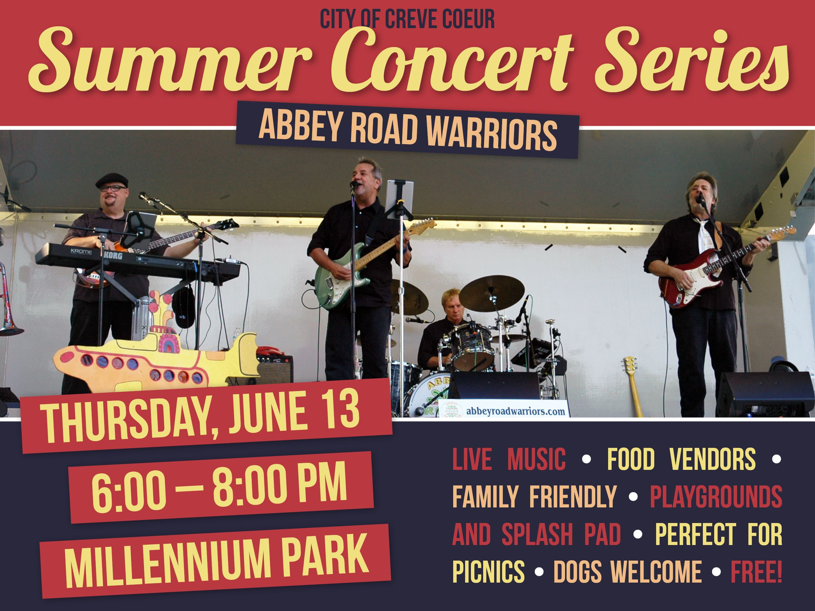 Summer Concert June 2019 - Abbey Road Warriors