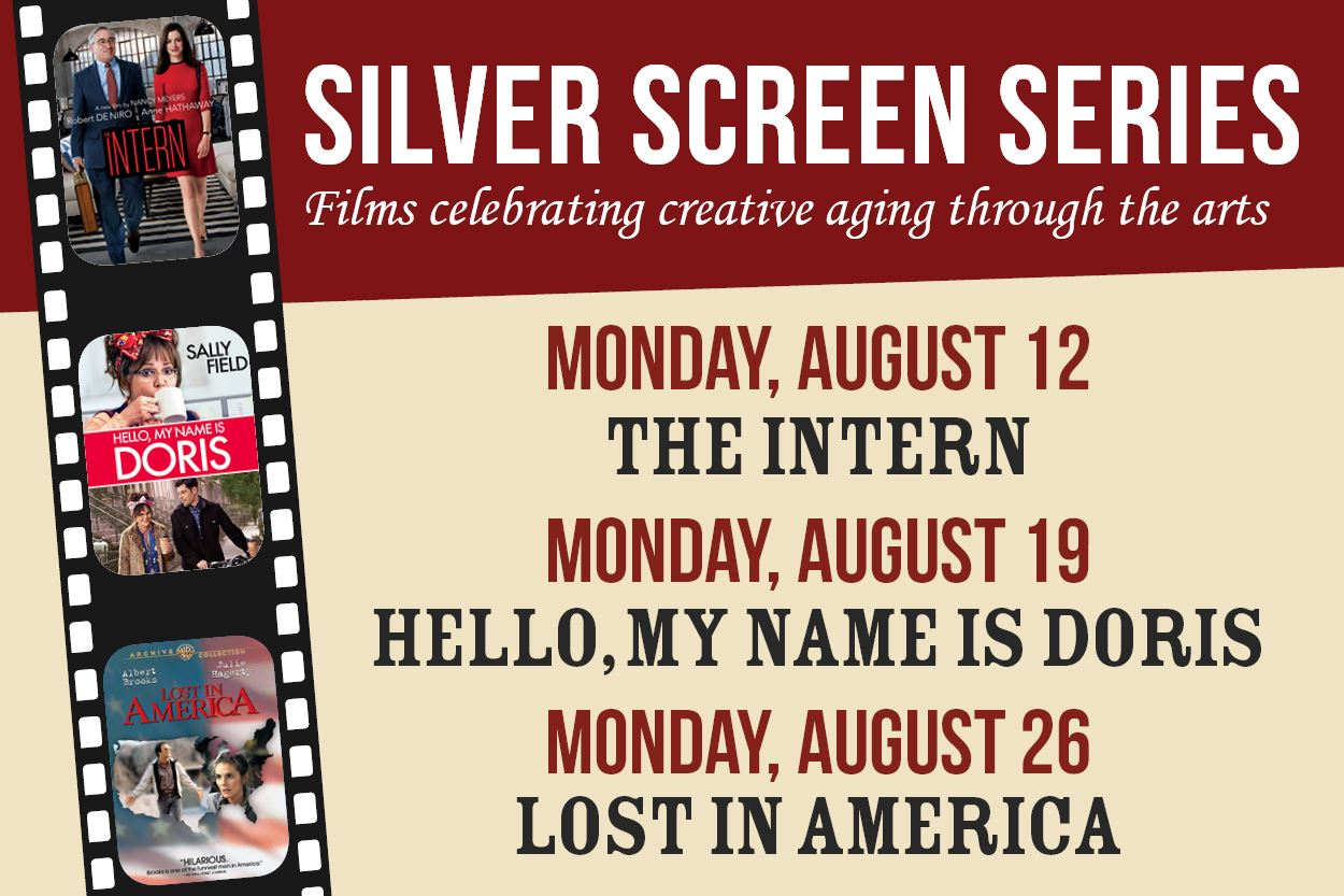 Silver Screen Series - August 12, 19, and 26