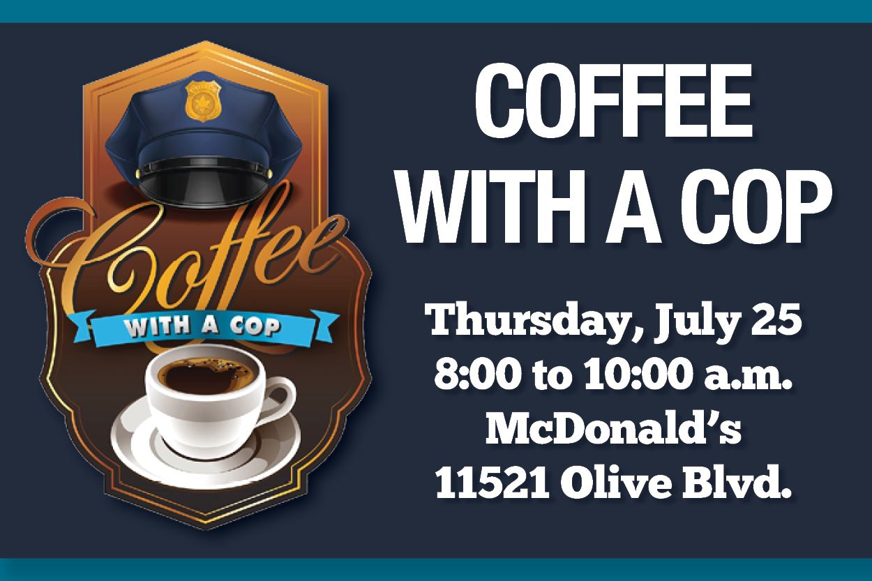Coffee with a Cop July 25 2019