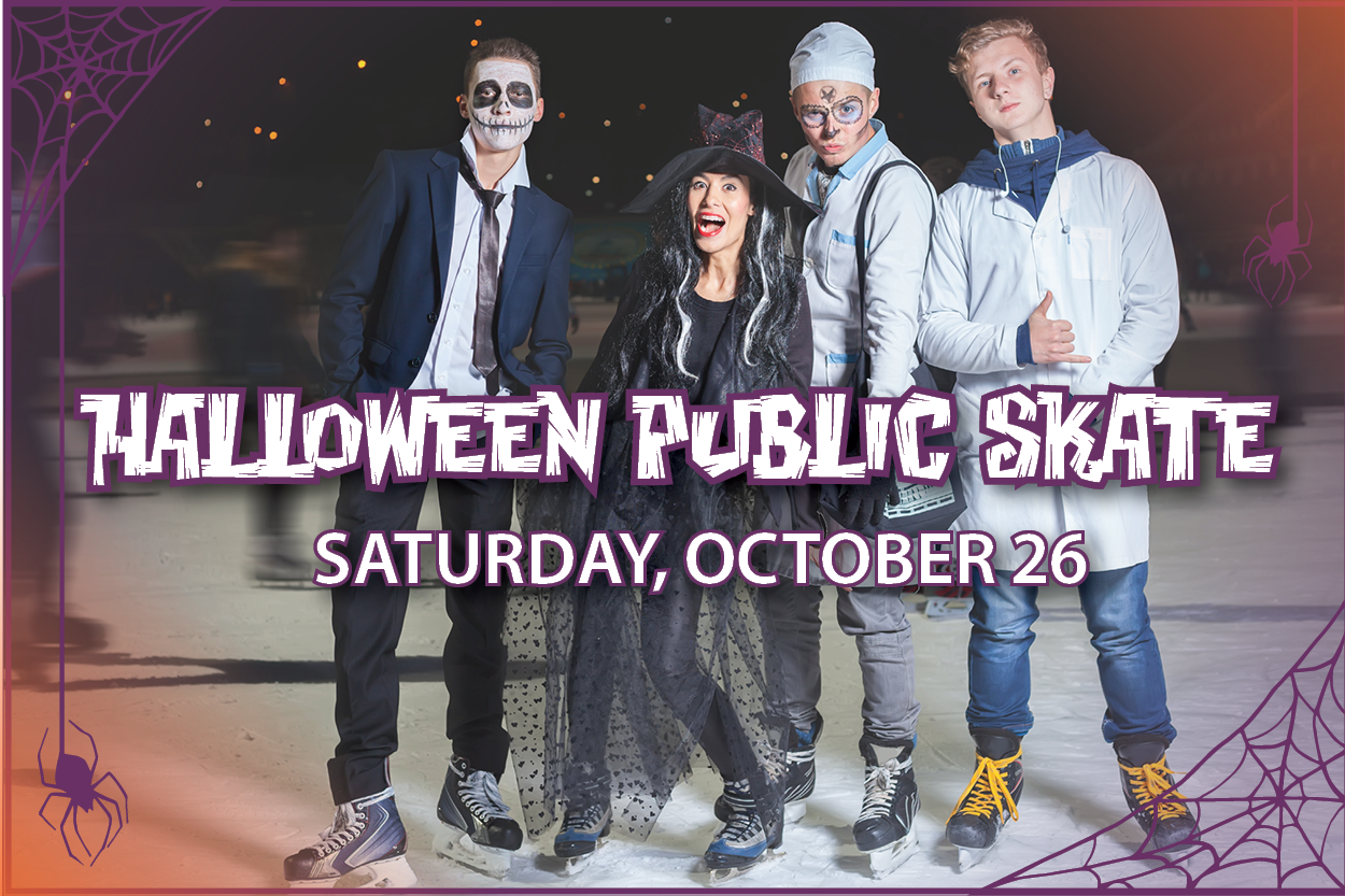 Halloween Public Skate - October 26
