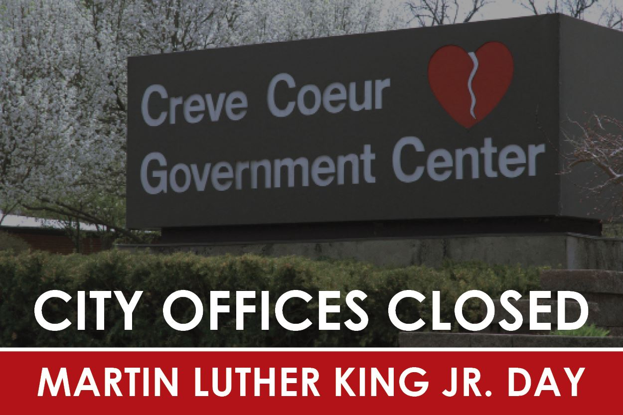 City Offices Closed MLK Day