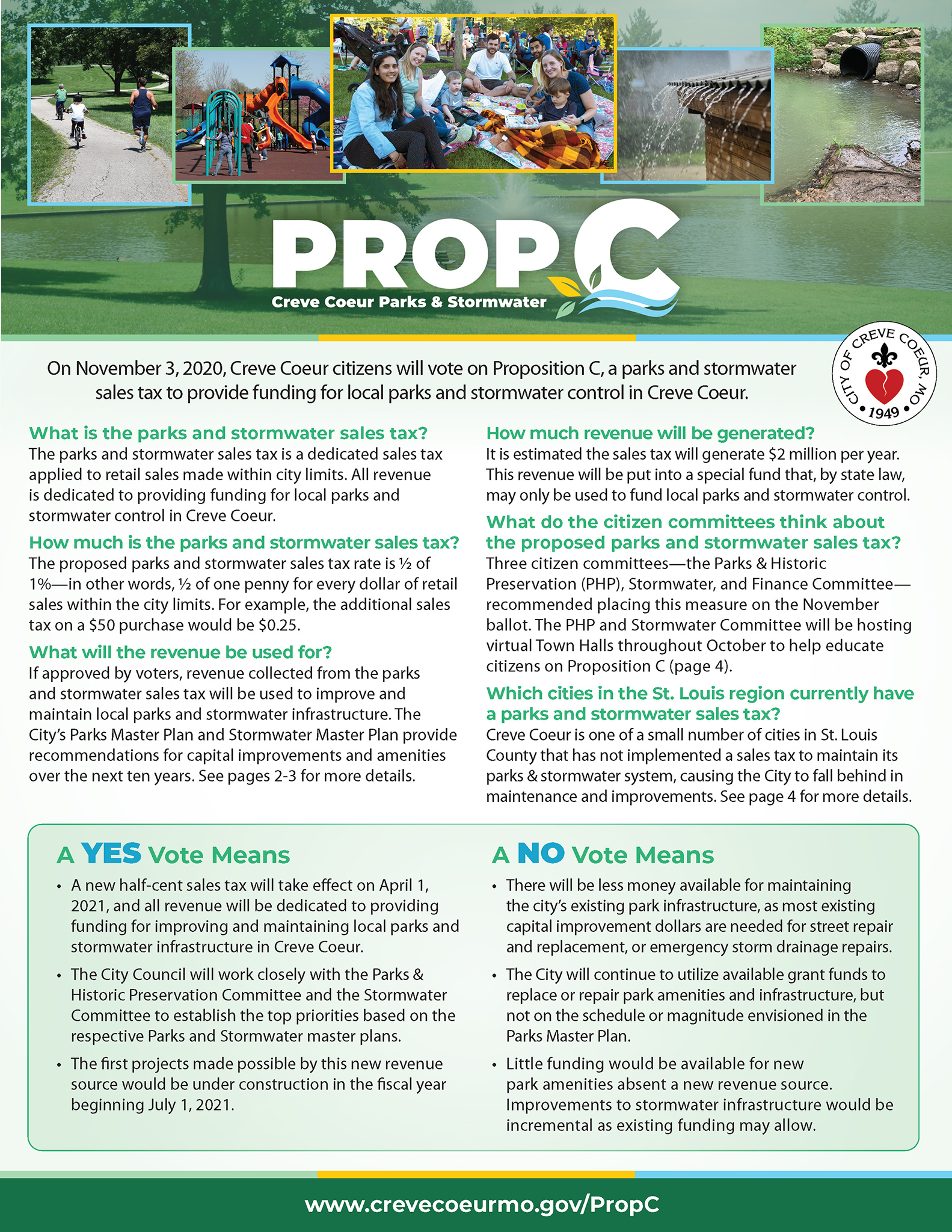 Proposition C Newsletter Insert
