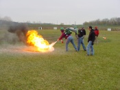 Fire Suppression Training