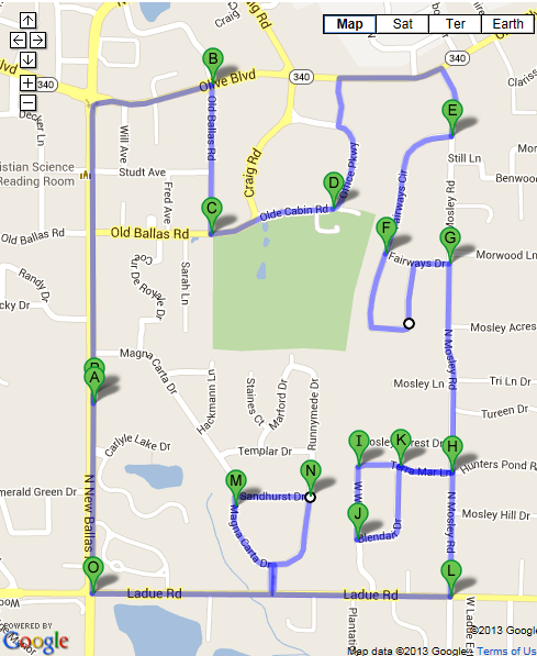 10k route
